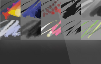 BLACK INK drawing software for high quality generative art